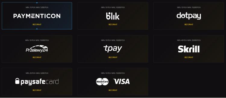 LV BET opinie - płatności