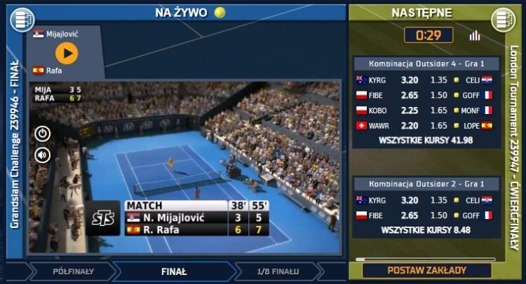 wirtualny tenis sts