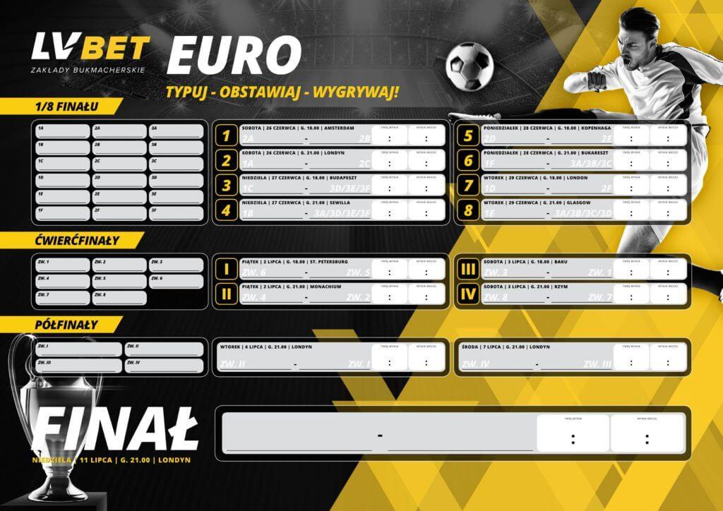 Euro 2020 z LV BET