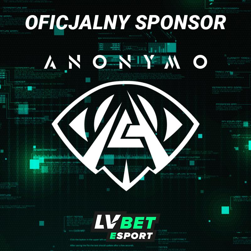 LV BET sponsorem ANONYMO