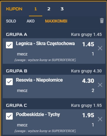maxikombi STS