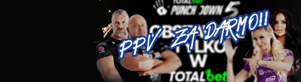 TOTALbet Punchdown 5: PPV za darmo!